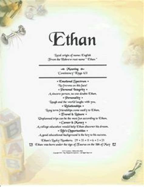 mean names ethan is king on pinterest boy names hanging wooden