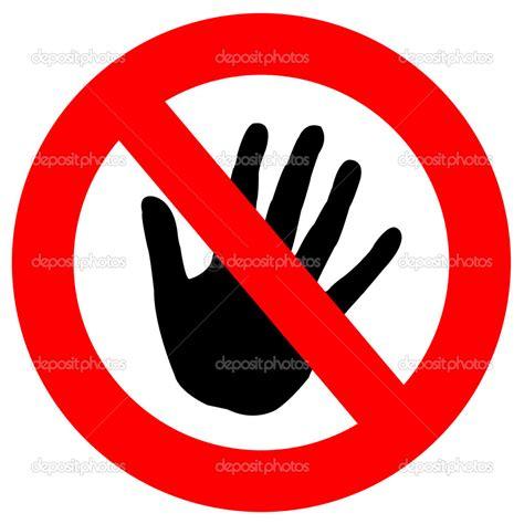 No Touching clip no touching clipart clipart suggest