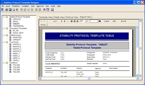stability protocol template 6 3 stability protocol template table
