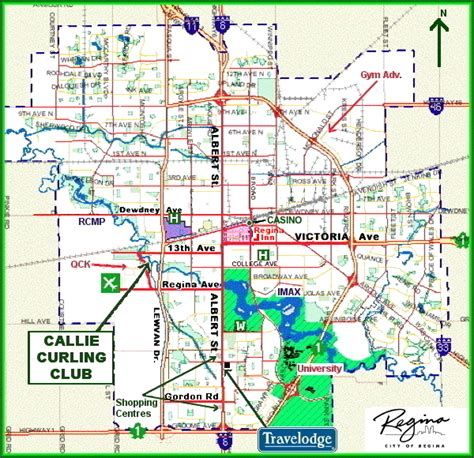 Regina Canada Map by Regina Sk Map Submited Images