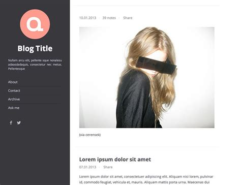 themes for tumblr best 50 best free tumblr themes