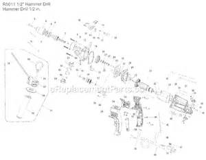 ridgid r5011 parts list and diagram ereplacementparts