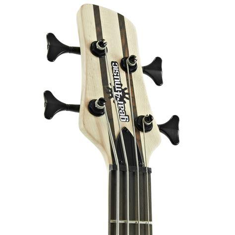 Jpin Neck Gitar Bass oregon neck thru bass guitar by gear4music at gear4music