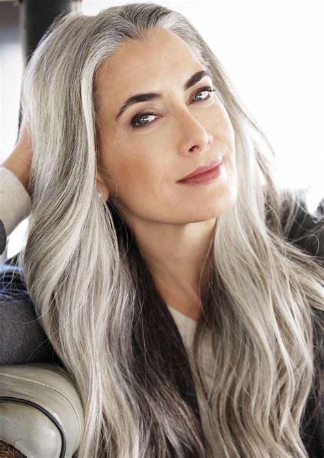 gray hair popular now best 25 long hair for older women ideas on pinterest