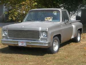 sell used 1977 chevy step side southern ca truck in