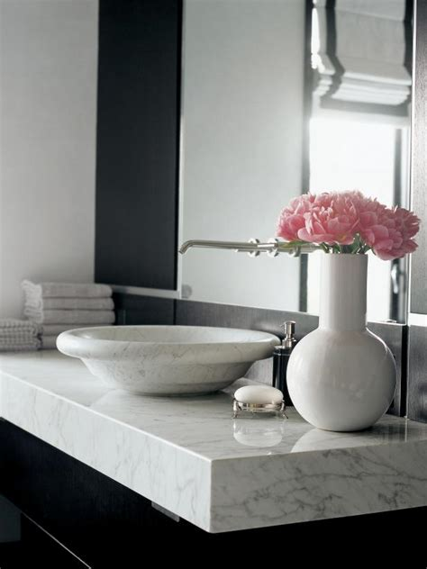 carrara marble bathroom countertops marble bathroom countertops hgtv