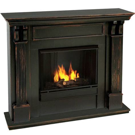 Ventless Fireplace by Indoor Ventless Fireplace Blackwash
