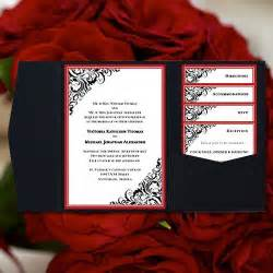 diy pocketfold invitations template diy pocketfold wedding invitations quot quot black