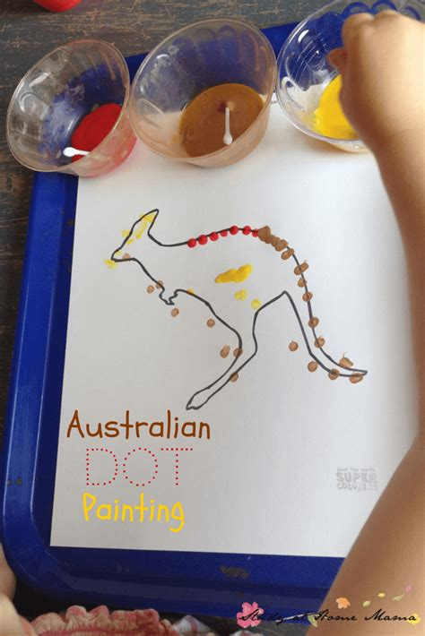 aboriginal craft for craft ideas aboriginal dot painting study at home