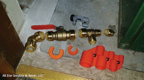 Shark Bite Plumbing Fittings Removal by How To Install Sharkbite Fittings With Photos