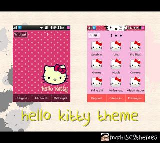 themes hello kitty samsung young sweetkawaiimachi hello kitty samsung corby 2 theme