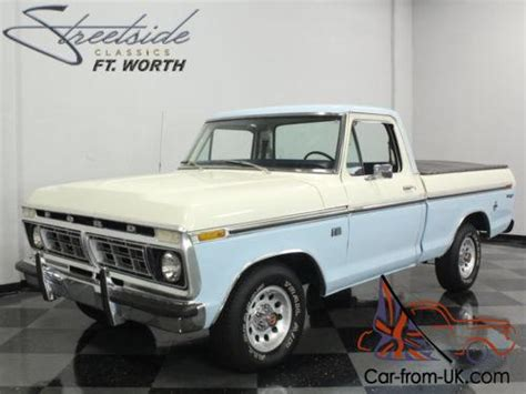 Ford Truck Models 1976 Ford F 100