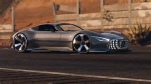 mercedes amg vision gt add on gta5 mods