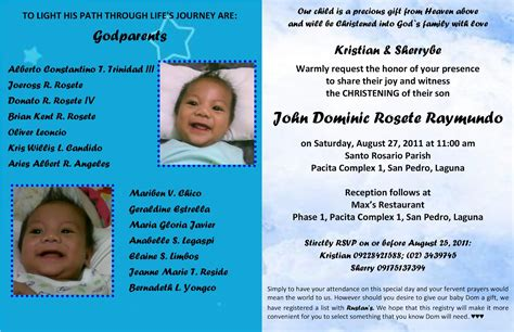 codashop comph invitation for christening in the philippines gallery