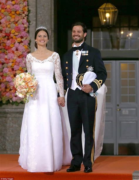 Recent Wedding Pictures by Display Of Couture Wedding Gowns Worn By Swedish Royals To