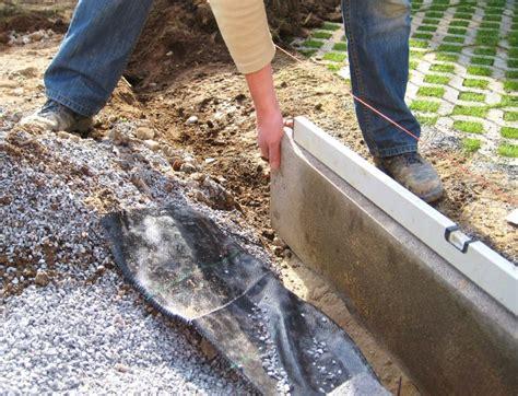 mähkante granit verlegen rasenkantensteine setzen so geht s husmann gartenbau
