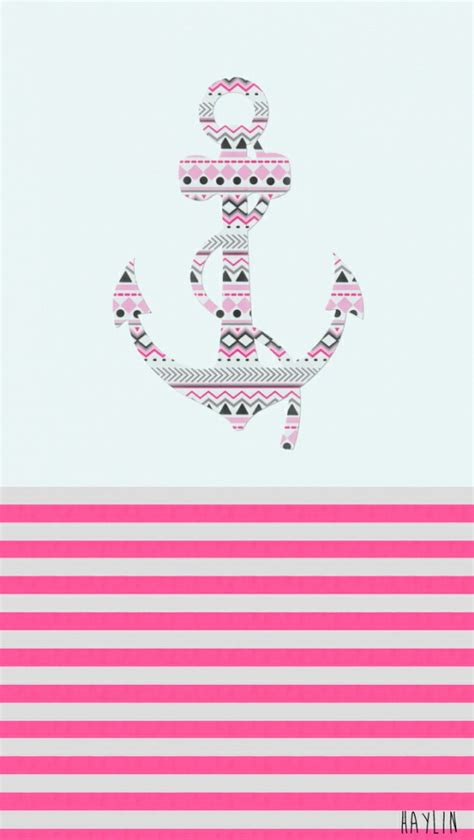girly nautical wallpaper the gallery for gt girly anchor desktop background