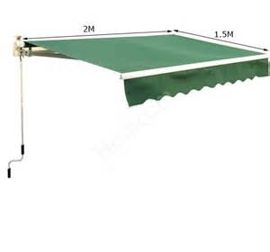 patio awning replacement covers garden patio manual awning canopy sun shade shelter