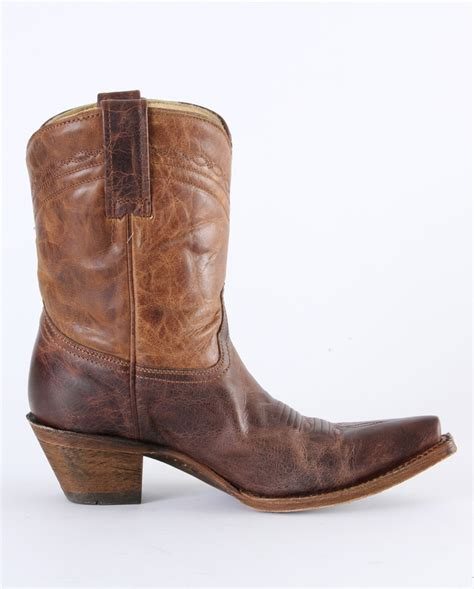 coral boots corral boots 174 snip toe ankle boots fort brands