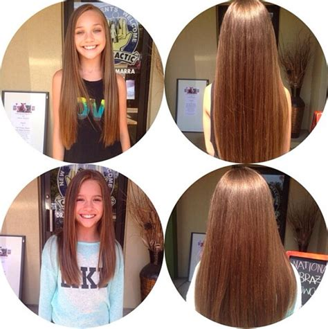dance mom maddie hair styles look at their beautiful hair maddie and mackenzie ziegler