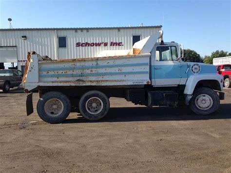 ford dump trucks 1984 ford dump trucks for sale used trucks on buysellsearch