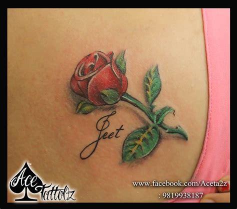 3d flower tattoo designs 3d ace tattooz studio mumbai india