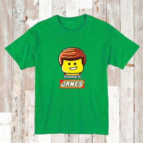 T Shirt Oceanseven Lego A lego custom t shirt for boys tees shirts custom