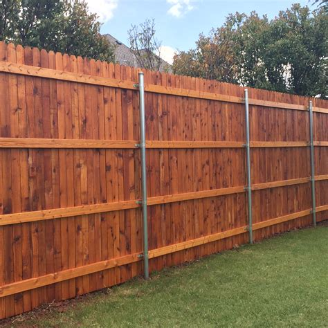 oklahoma fence staining projects showcasing fence