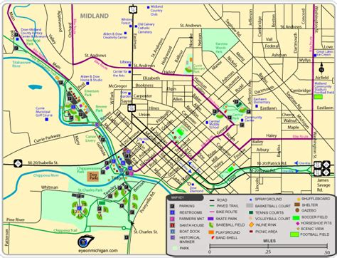 map of midland texas and surrounding areas maps of parks trails attractions more in midland