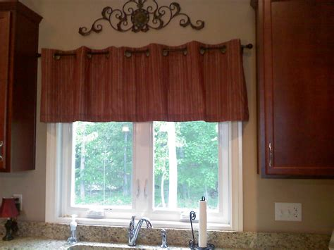 kitchen window valances ideas valance ideas for kitchen windows interior mikemsite