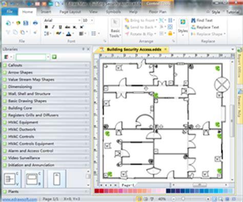 quick floor plan maker security and access plan floor plan solutions