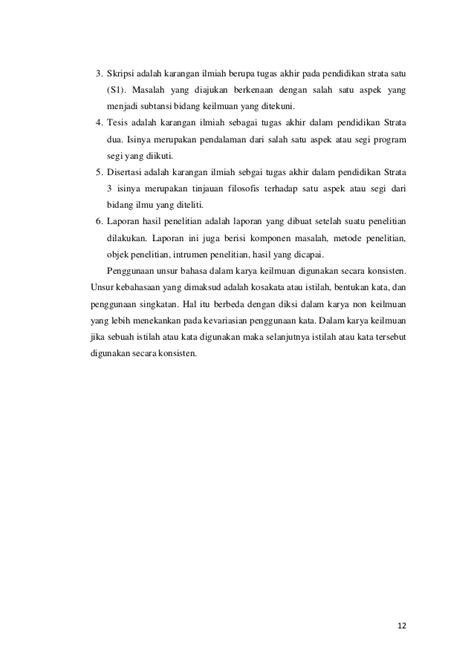 tugas bahasa indonesia nur silviani soraya makalah bahasa indonesia keilmuan