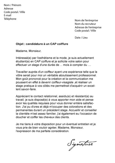 Exemple Lettre De Motivation Cap Enfance Publi 233 Le 11 12 2015