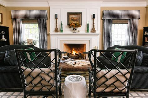 black and cream buffalo check curtains 15 best before and after transformations of 2015 lisa