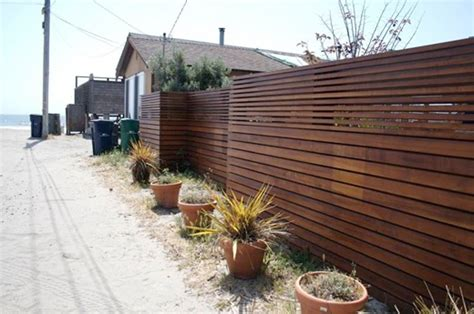 modern fence look modern fence apartment therapy