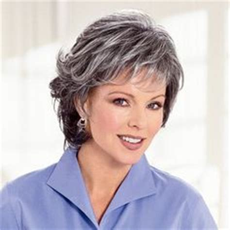 silver fox wigs for women over 50 wigs for women over 50 easy chic medium wavy hairstyles