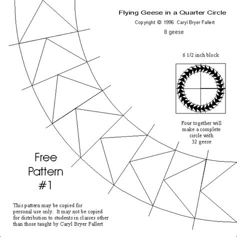 flying geese pattern free bing images