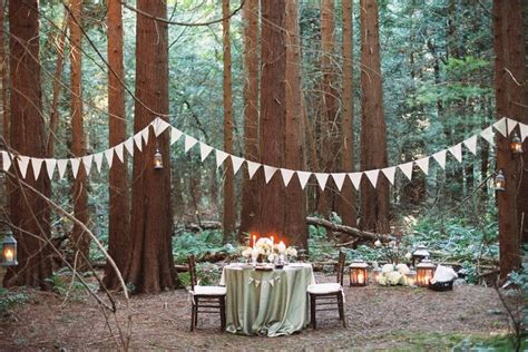 date night idea dinner in the woods from filosophi events