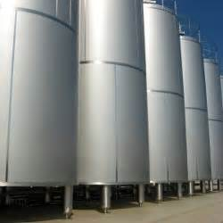 New Stainless Steel Tanks Vessels Silos Process Plant Metal Fabricating Equipment Storage And Processing