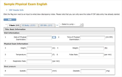 create and modify case report forms crfs openclinica