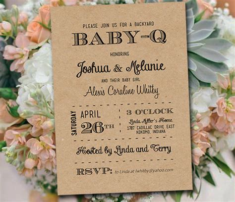 free baby q invitations templates baby q invitations templates free orderecigsjuice info