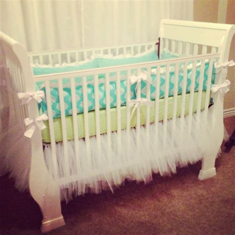 White Tulle Crib Skirt by Tulle Tutu Crib Skirt I Think I M Going To Attempt To