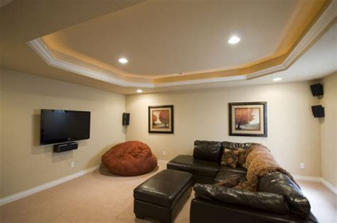 Ceiling Soffit Lighting by Soffits With Rope Lighting Basement Finish Design