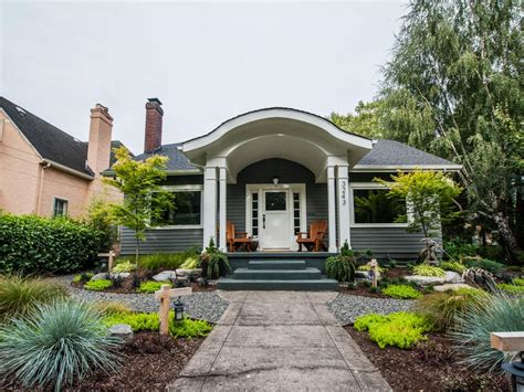 exterior landscaping curb appeal tips for craftsman style homes hgtv