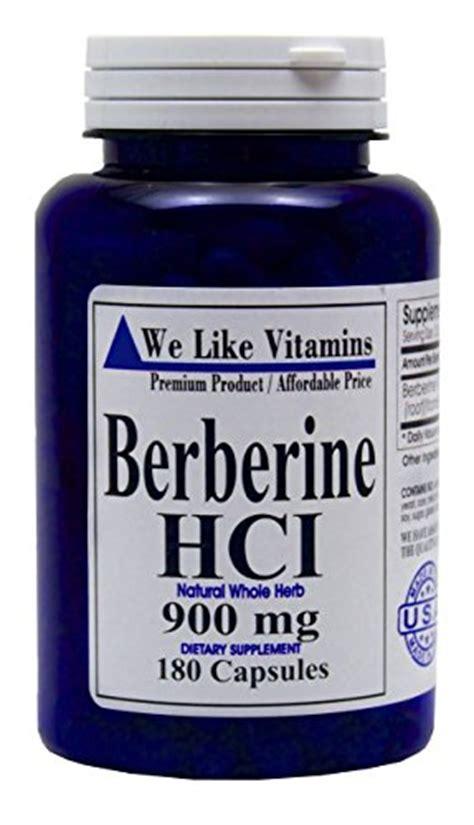 supplement berberine berberine 900mg 180 capsules best value berberine
