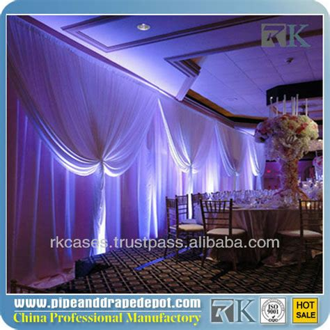 wall drapes for parties rk portable fabric partition wall wall drape wedding wall