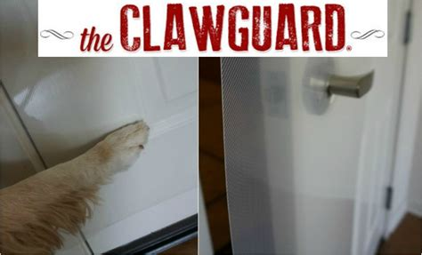 clawguard protects your door from scratches golden woofs