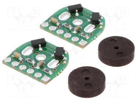 Encoder Sensor 6 Pin magnetic encoder pair kit pololu sensor tme electronic components