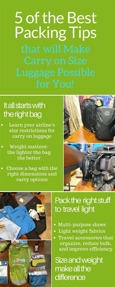 Tips On Creating The Top by 5 Of The Best Packing Tips To Make Carry On Size Luggage