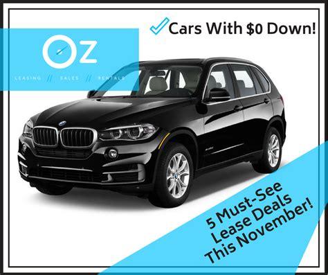 car lease deals  november  luxury car leasing
